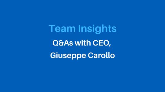Team insights with Carollo Horton Insurance CEO Giuseppe Carollo